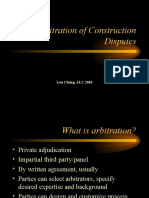 arbitrationofconstructiondisputes-1249958459189-phpapp03