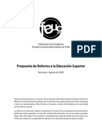 Propuesta UC Reforma 2009