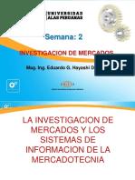 Semana 2 La Investigacion de Mercados