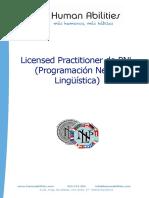 Info Curso Practitioner PNL Genérico NEW