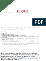 El Cine Como Medio de Comunicación