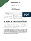 [S] a Better Action Than Nafil Hajj (Islamic Story)