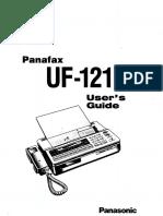 Panafax UF121 UM