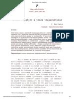 Trauma Coletivo e Troca Transcultural