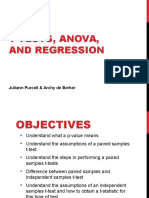 Regression ANOVA Compiled