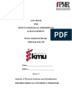 LOG BOOK for Objective Assessment C-P I & II KMU (1)