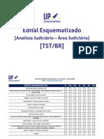 Edital esquematizado - analista do TST.pdf