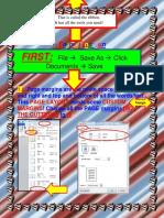 Formatting a Word Document3