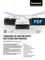 Kx-mb21 Series Spec Sheet-V8- En