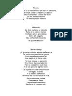 Poema Del Maestro