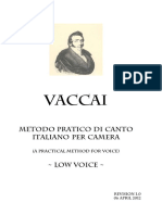 Vaccai Method Low Voice r1.0