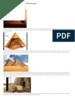 Pirámides,Misterios Que Disminuyen
