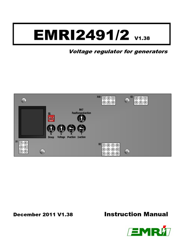 27220 Emri 2492 V138pdf Resistor Electric Generator Function Schematic In Addition Avr Circuit Diagram