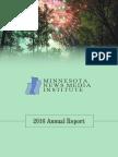 2016 MNI Annual Report