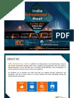India Entrepreneurs Meet