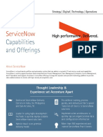Accenture Servicenow Capabilities and Offerings v6 2016 4