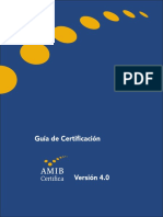 Guia de Certificacion AMIB 4.0