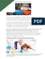 Crean Impresora 3D Para Producir Piel Humana12112