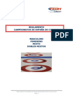 Reglamento de Curling FEDH