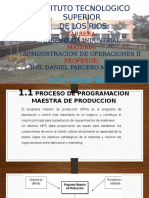 Unidad i Planeacion Agregada Admon Oper II