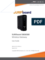 SBG6580 User Guide