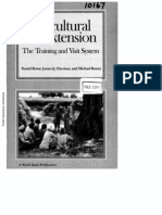 Agricultural Extension-The Trainning and Visit System