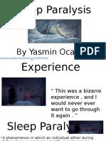 Sleep Paralysis Presentation
