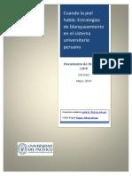 Cuando La Piel Habla Estrategias de Blanqueamiento en El Sistema Universitario Peruano - Kogan, Galarza