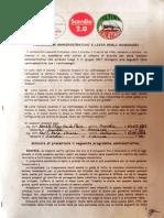 PROGRAMMA AMMINISTRATIVO FRANCESCO LEONARDI