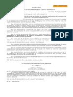 Reglamento de Ley Maquila