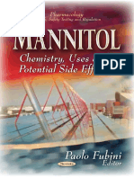(Pharmacology-Research, Safety Testing and Regulation) Paolo Fubini-Mannitol_ Chemistry, Uses and Potential Side Effects-Nova Science Pub Inc (2013)