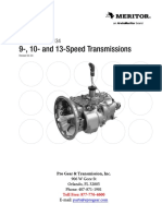 Meritor Rockwell Zf 9 Speed RMX9 145B