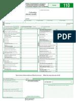 formulario 110-2014
