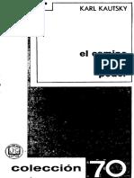 Karl Kautsky, El Camino Del Poder (1909, Grijalbo 1968) OCRed