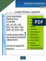 Capacitación de Familiarización DPI(S)(N)-1-HE(D)