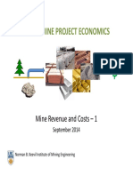 3 Mine Revenue and Costs - 1