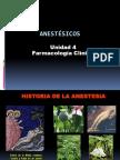 Unidad 4. Anestésicos (1)