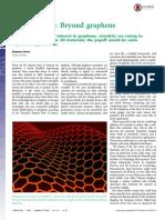 News Feature- Beyond Graphene PNAS-2015