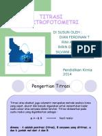 Titrasi Spektrofotometri