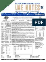 5.17.17 vs. MIS Game Notes