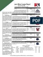 5.17.17 Minor League Report