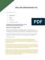 Código de ética del administrador de empresas.docx