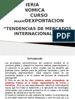Tendencias de Mercados Internacionales