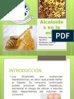 Alcaloides en La Miel