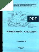 Hidrologia Aplicada Abel Mejia-UNA LA MOLINA 2006
