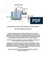 FUNDAMENTALS OF THE THEORY OF FLOTATION By Ph.D. Natalia Petrovskaya