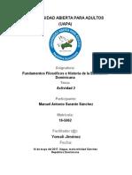 Tarea 2 de Fundamentos Filosoficos e Historia de La Educacion Dominicana