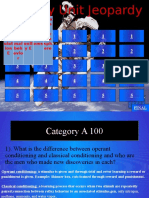 evolution jeopardy 1314 - converted to trivia game ppt