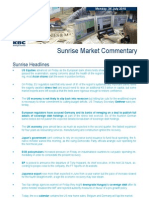 JUL 26 KBC Sunrise Mkt Commentary