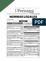 Reglamento Inspecciones Técnicas Seguridad Edificiones DS 058-2014-PCM